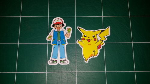 Sticker Pokemon 102 - Dim 105 x 90mm