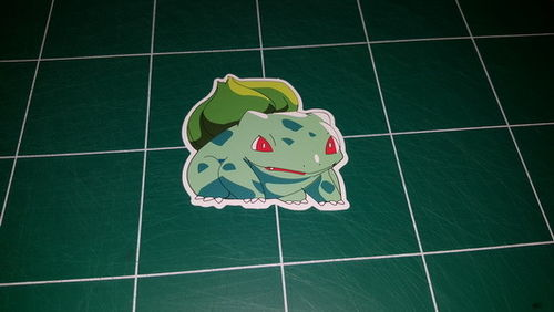 Sticker Pokemon 105 - Dim 70 x 65mm