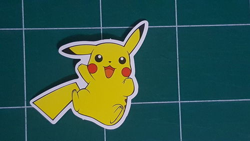 Sticker Pokemon 101 - Dim 85 x 60mm