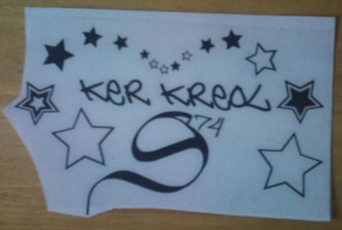 Sticker 974 ker kreol StarSp
