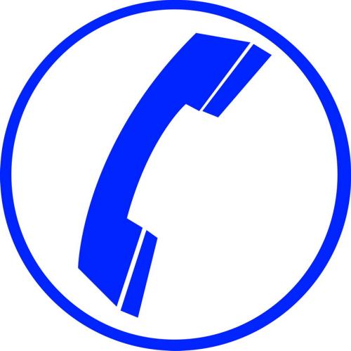 Sticker Ambulance Téléphone 01 Taille M