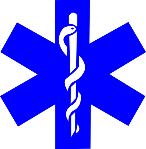 Sticker Ambulance modèle 04 Taille L