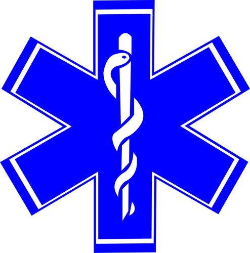 Sticker Ambulance modéle 03 Taille L