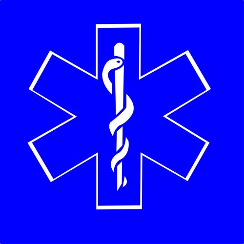 Sticker Ambulance modéle 02 Taille L