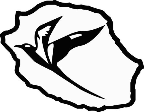 Sticker Carte de la Réunion + paille en queue Taille S