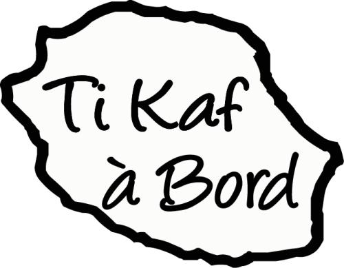 Sticker Bébé à bord 15 - Ti kaf à bord