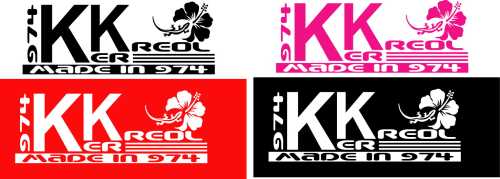 Sticker 974 Ker Kreol made in 974