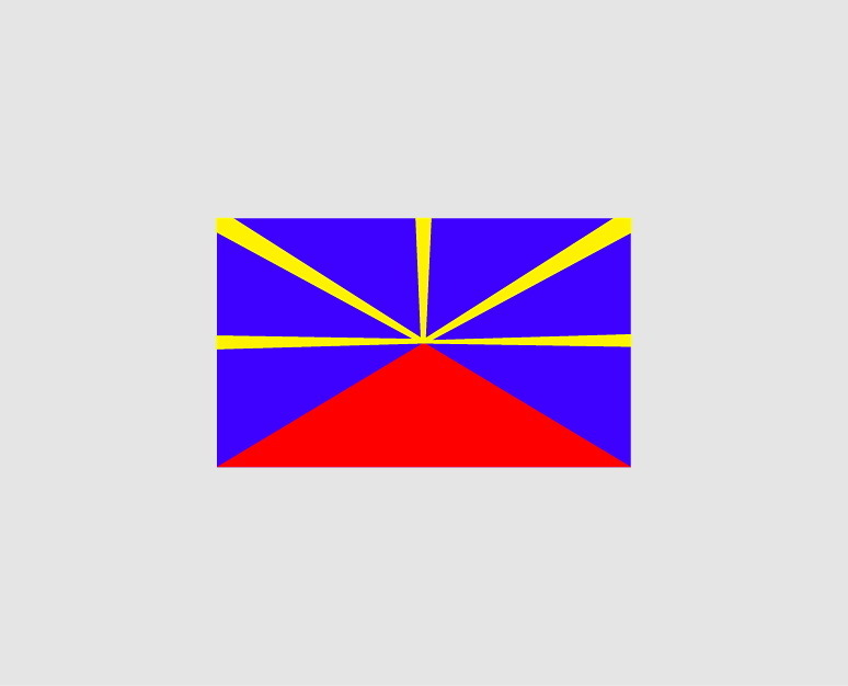 Sticker drapeau Lo Mahavéli- Dim 06 x 10cm