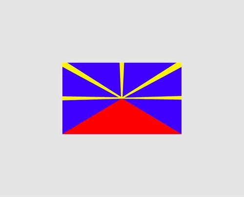 Sticker drapeau Lo Mahavéli- Dim 12 x 20cm