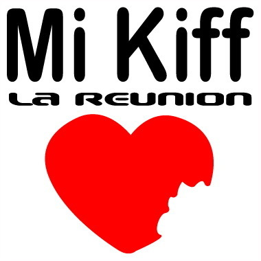 Sticker Mi Kiff la réunion- Dim 07.5 x 07.5 cm