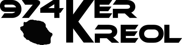 Sticker écriture 974 Ker Kreol 04