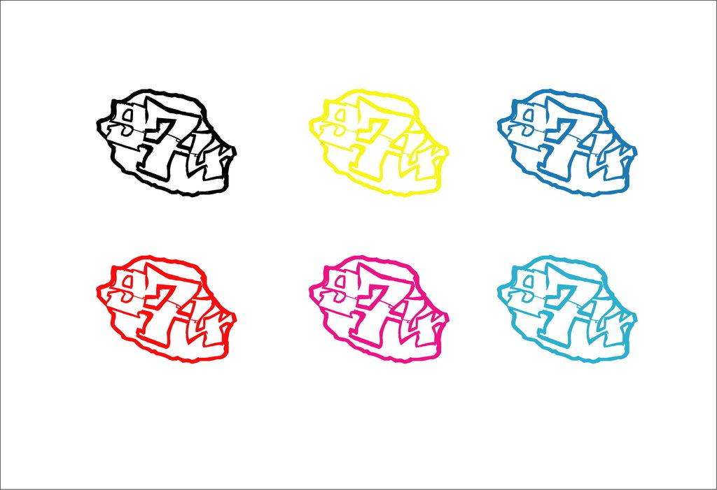 Sticker écriture 974 + Carte de la Réunion Taille M