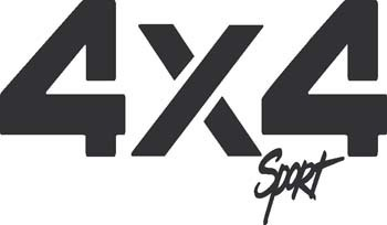 Sticker 4x4 sport - 028 - dim : 200 x 115 mm