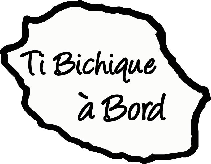 Sticker Bébé à bord 30 - Ti Bichique à bord