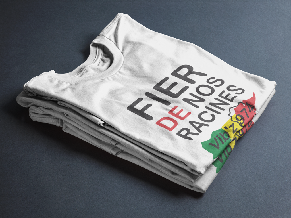 T-shirt Fier de nos racines