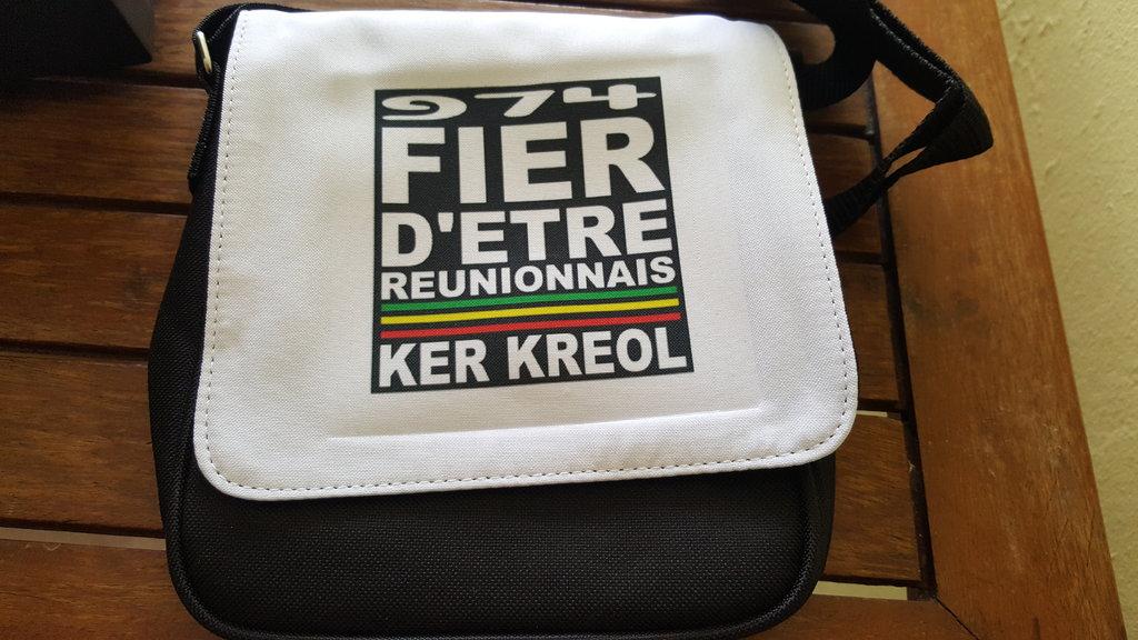 Sac pochette Taille S - Fier d'être Réunionnais