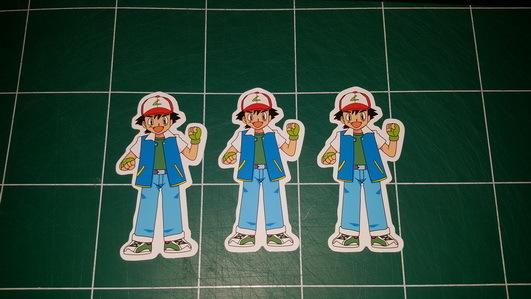 Sticker Pokemon 102 - Dim 105 x 90mm