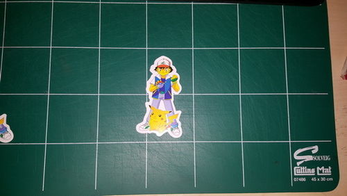 Sticker Pokemon 103 - Dim 85 x 50mm
