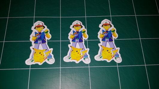 Sticker Pokemon 103 - Dim 85 x 50mm