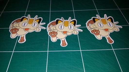 Sticker Pokemon 104- Dim 65 x 70mm