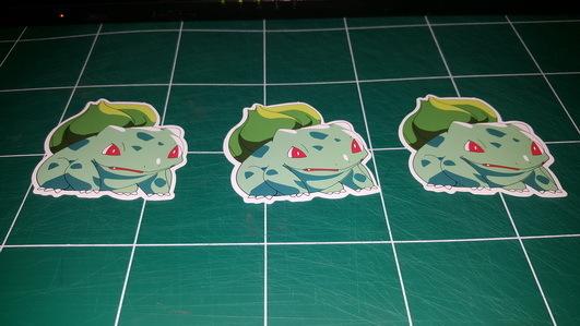 Sticker Pokemon 105 - Dim 70 x 65mm