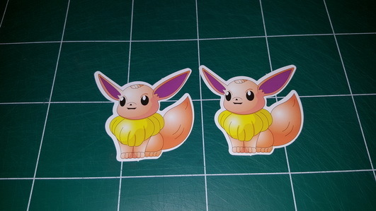 Sticker Pokemon 106 - Dim 65 x 70mm