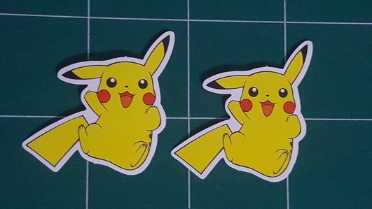 Sticker Pokemon 101 - Dim 85 x 60mm