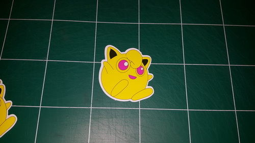Sticker Pokemon 108 - Dim 65 x 60mm