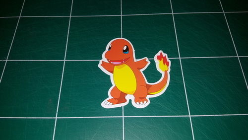 Sticker Pokemon 111 - Dim 70 x 60mm