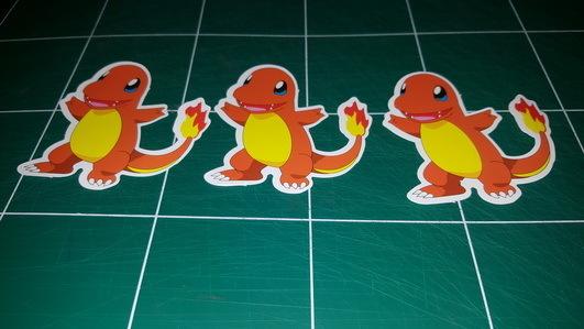 Sticker Pokemon 111 - Dim 70 x 60mm