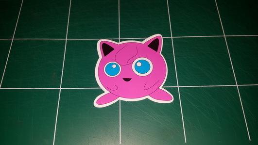 Sticker Pokemon 109 - Dim 70 x 70mm