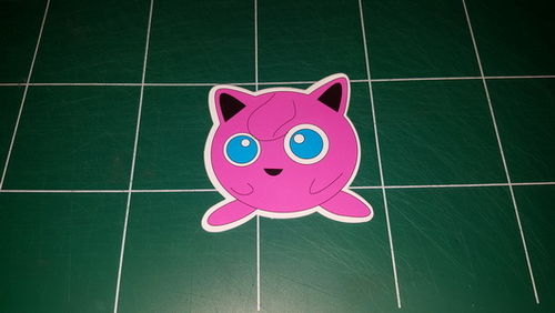Sticker Pokemon 109 - Dim 70 x 70mm
