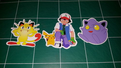 Sticker Pokemon 112 - Dim 200 x 85mm