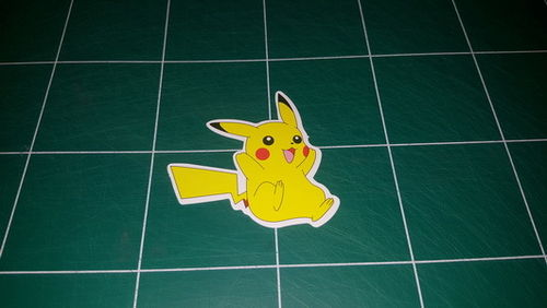 Sticker Pokemon 113 - Dim 65 x 70mm