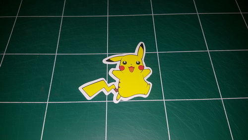 Sticker Pokemon 10x - Dim 60 x 75mm
