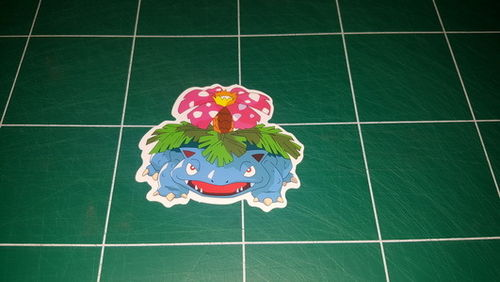 Sticker Pokemon 115 - Dim 70 x 60mm