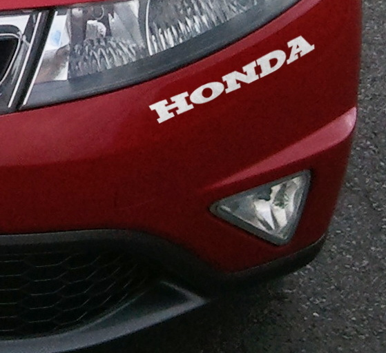 Sticker Logo Honda - Taille 20 x 3 cm - PROMO