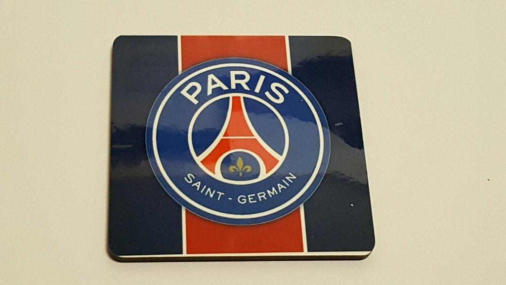 Sous verre bleu Fier d'être Parisiens