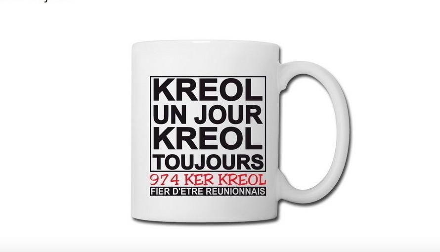 Mug Kreol un jour Kreol toujours