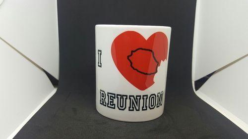 Mug  I love Réunion