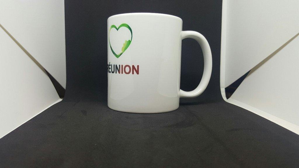 Mug I love La Réunion - Margouillat