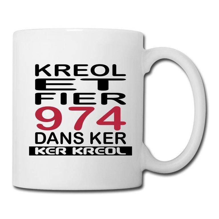 Mug 974 Ker Kreol - Kreol et Fier 974