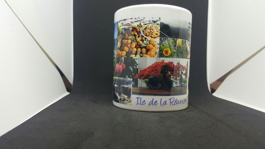 Mug 974 Ker Kreol - Ile de la Réunion