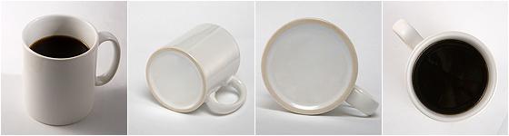 Mug Café Bourbon pointu - grain de café