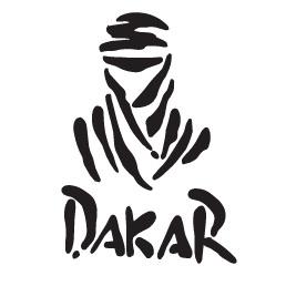 Sticker Dakar - Dim 13 x 9,1cm