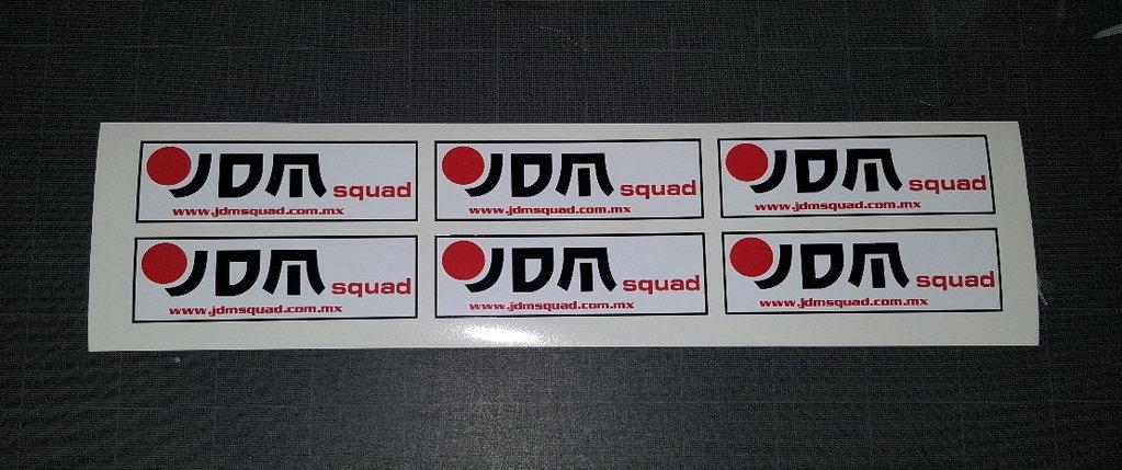 Lot de 2 stickers japonais 010 - Taille 155 x 50 mm