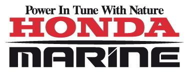 Sticker Logo Honda Marine - Taille 10 x 4 cm