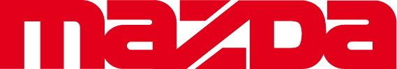 Sticker Logo Mazda - Taille 25 x 4,4 cm