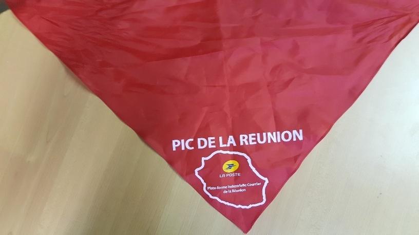 Foulard LA POSTE - PIC REUNION