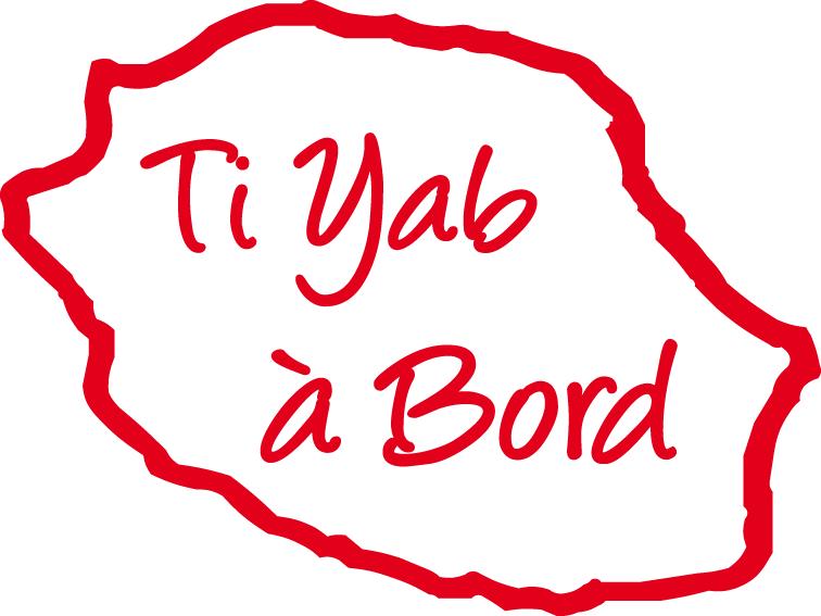 Sticker Bébé à bord 42 - Ti yab à bord